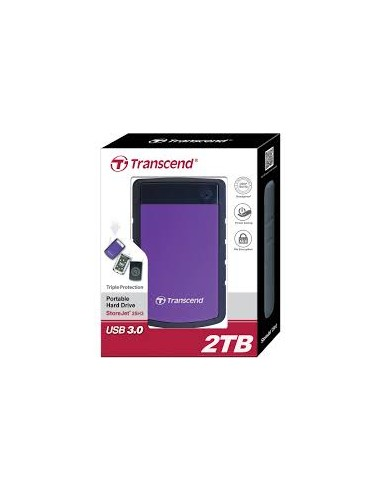 Transcend Storejet 2TB Portable USB...